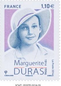 Marguerite Duras_timbre